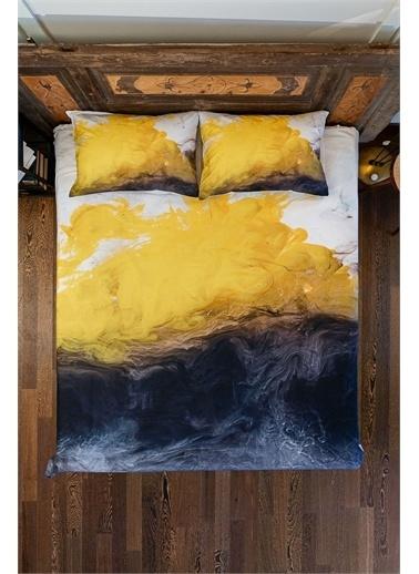 home-bath Çift Kişilik Nevresim Takımı Yellow Renkli